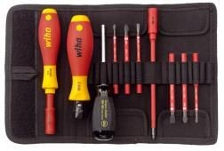 wiha vde complete set with torque screwdriver 2872t10 from romford tools. Black Bedroom Furniture Sets. Home Design Ideas