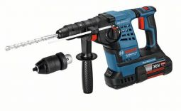 Bosch GBH36VF-LI 36v SDS Plus Cordless Rotary Hammer With 2 x 4.0ah Li-Ion Batteries - £499.99 INC VAT