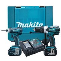 Makita DLX2005X 18V li-ion 2 Piece Cordless Kit With 2 x 3Ah Batteries - £299.96 INC VAT