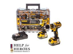 Dewalt Help For Heroes 18v Brushless Twin Pack With  2 x 4.0ah Batteries - £299.99 INC VAT
