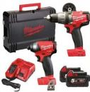 Milwaukee M18FPP2A-523X 18V Fuel Twinpack With 2 x 5.0Ah Batteries - £449.97 INC VAT