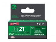 "Arrow 214/JT21 1/4"" - 6mm Staples (approx 1000)"