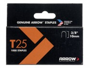 "Arrow 256/T25 3/8"" -10mm Round Crown Staples (approx 1000)"