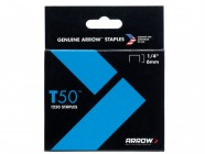 "Arrow 50424/ T50 1/4"" - 6mm Staples (approx 1250)"