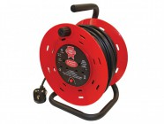 Faithfull Power Plus Cable Reel 25m - 13amp 230 Volt