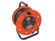 Faithfull Power Plus Cable Reel 50m - 13amp 230 Volt