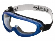 Bolle Safety Atom Safety Goggles Clear - Ventilated Foam Seal