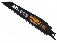 Dewalt 2X Life Wood & Nail Reciprocating Blades 228mm Pack of 5