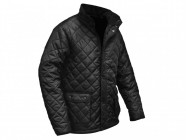 Roughneck Clothing Black Quilted Jacket Large