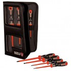 Irazola Tekno+ 7pc Electricians Insulated Screwdriver Set