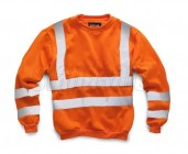 Stand Safe HV009 Hi Vis Sweatshirt - Orange