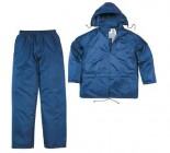 Panoply 400 Polyester Waterproof Rain Suit Coat & Trousers - Large