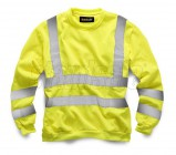 Stand Safe HV009 Hi Vis Sweatshirt - Yellow