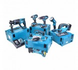 Makita 18v Li-ion 7 Piece Cordless Kit With 3 x 4.0ah Batteries