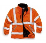 Stand Safe HV022 Hi Vis Fleece - Orange